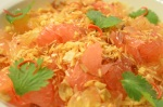 Exotic Thai 'Pomelo Salad' ยำส้มโอ